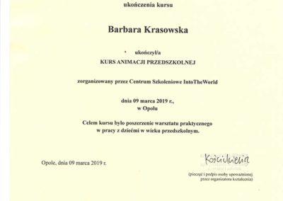 certyfikat animacja przedszkolna str1