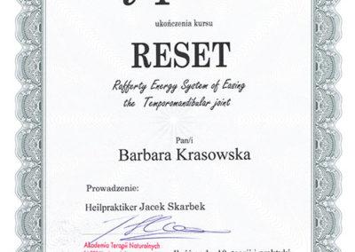 Dyplom Reset